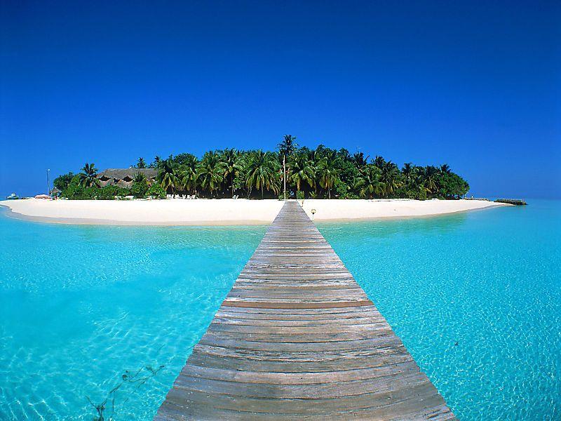 Maldives Sky Sea Aquamarine 1920x1440
