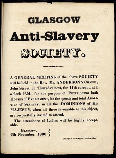 Anti-slavery-society-poster