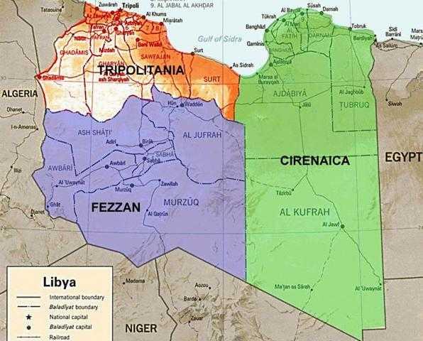 ThreePartsofLibya