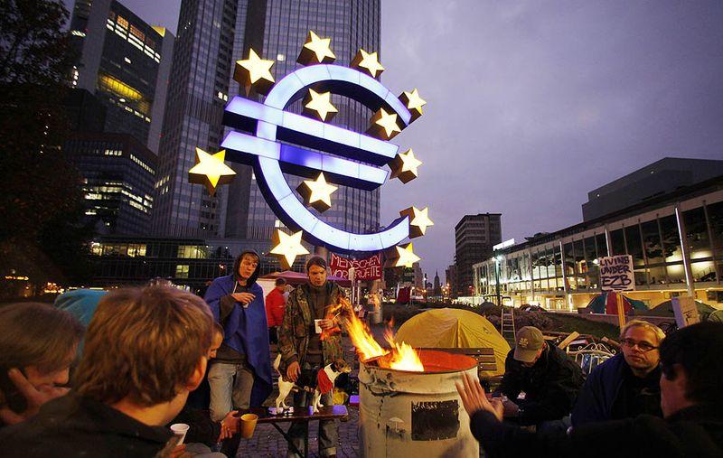 ECBprotesters