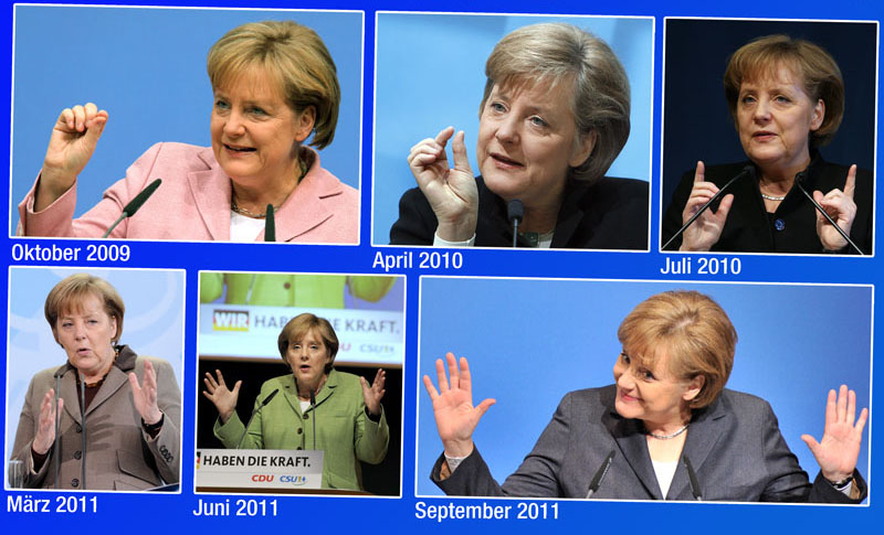 Merkel caption