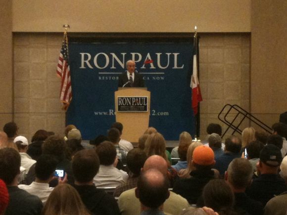 Ron Paul in Council Bluffs, IA