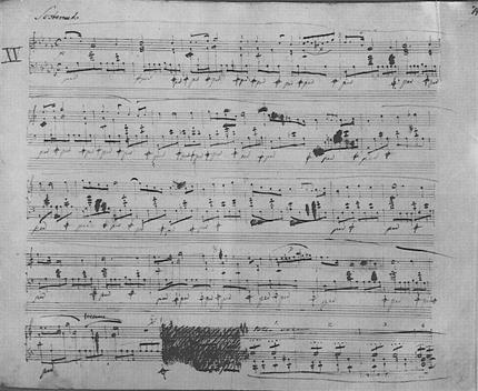 Chopin_Prelude_15_autograph