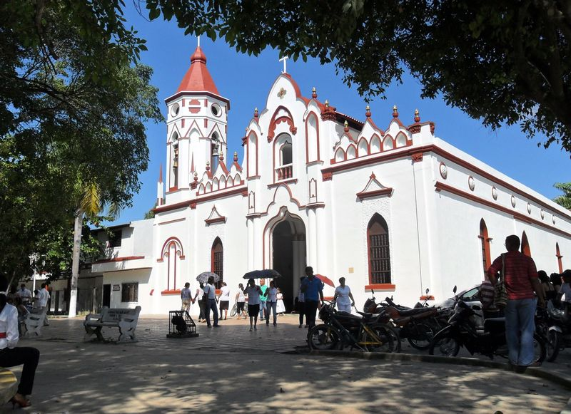 Aracataca's_church_where_Garcia_Marquez_was_baptized