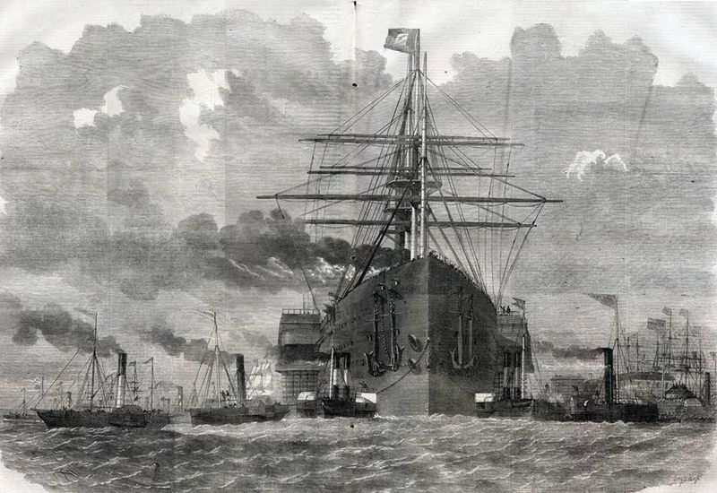 Great-Eastern-First-Voyage