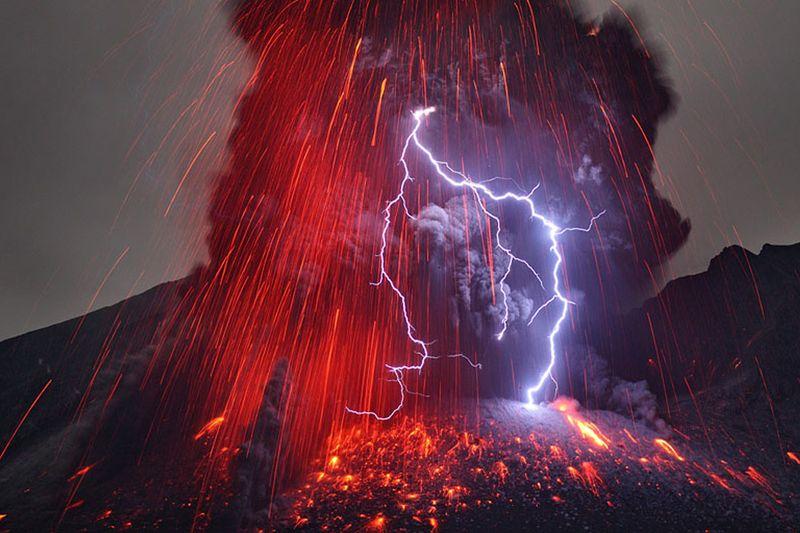 Volcaniclightening