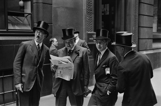 Men of the London Stock Exchange, 1937