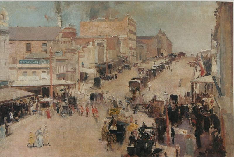 Tom_Roberts-Allegro_con_brio,_Bourke_Street_west_c_1885-86