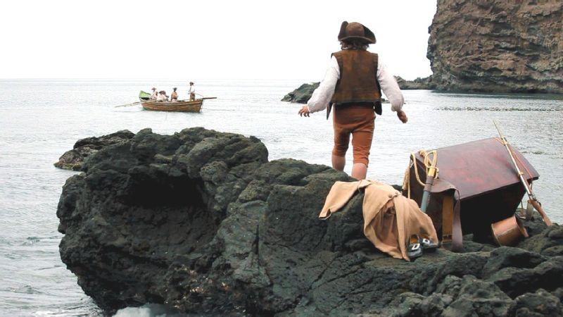 CrusoeAusgesetzt
