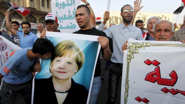 Merkel mother