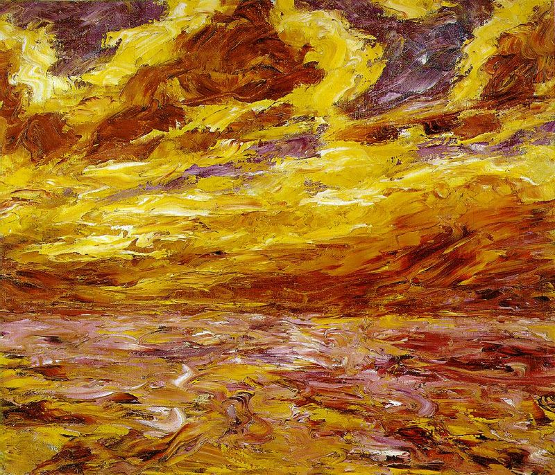Emil-Nolde-autumn-sea-