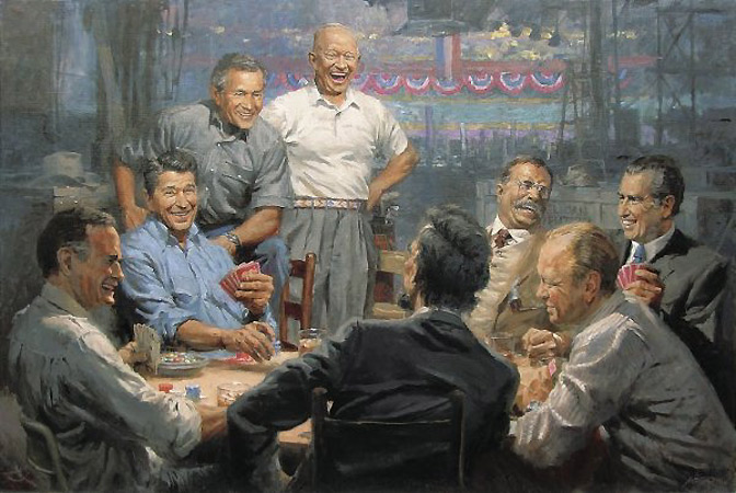 Republican-presidents-playing-cards