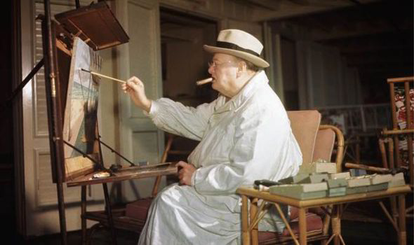 Winston-Churchill-artist-painting-547792